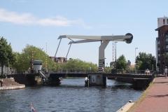 Haarlem-1121-Ophaalbrug-over-Het-Spaarne