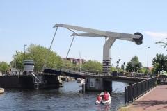 Haarlem-1131-Ophaalbrug-gaat-open-over-Het-Spaarne