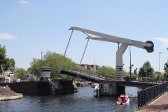 Haarlem-1132-Ophaalbrug-gaat-open-over-Het-Spaarne