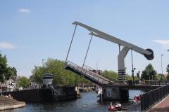 Haarlem-1133-Ophaalbrug-gaat-open-over-Het-Spaarne