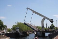 Haarlem-1134-Ophaalbrug-gaat-open-over-Het-Spaarne
