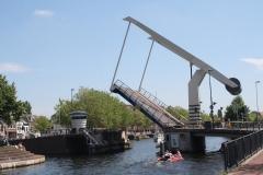 Haarlem-1135-Ophaalbrug-gaat-open-over-Het-Spaarne