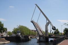 Haarlem-1136-Ophaalbrug-gaat-open-over-Het-Spaarne