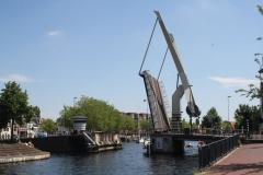 Haarlem-1137-Ophaalbrug-gaat-open-over-Het-Spaarne