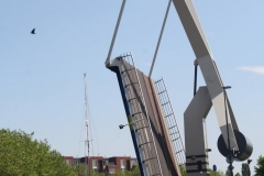 Haarlem-1140-Ophaalbrug-open-over-Het-Spaarne