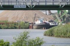 Bunde-070-Brug-Bunde-en-tijdelijke-haven-Grensmaasproject
