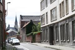 Sint-Truiden-161-Straatgezicht-met-H-Hartkerk