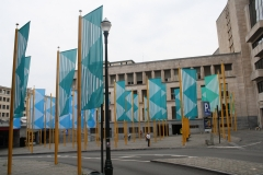 Brussel-2014-0526-Vlaggen-in-Lebeaustraat