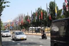 Den-Haag-017-Johan-de-Wittlaan-met-Vlaggen