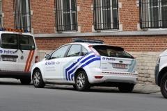 Brussel-0418-Politiewagen