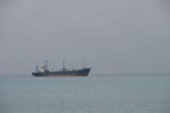 St.-Maarten-085-Leeg-Containerschip