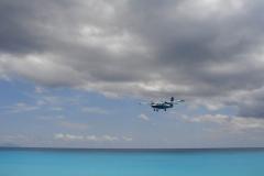St.-Maarten-0719-Landend-Vliegtuig