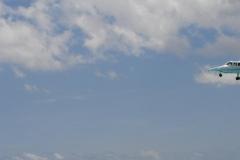 St.-Maarten-0737-Landend-vliegtuig