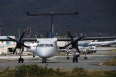 St.-Maarten-0748-Taxiënd-vliegtuig
