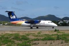 St.-Maarten-0750-Taxiënd-vliegtuig