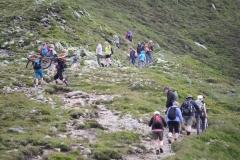 Bramberg-076-Wildkogel-Wandelaars-op-pad-naar-de-top